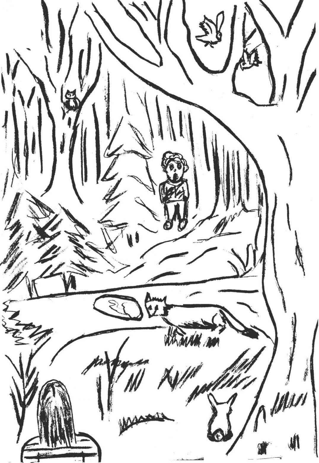 La rencontre de zac elodie et monsieur renard
